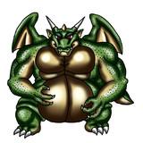 某有名RPG風なデブドラゴン