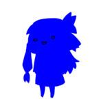ブルースクリーンの琴葉茜立ち絵素材