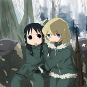 少女終末旅行 第931話「ソファ」「穴」