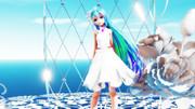 【MMD】 Cake 【Tda式改変照れミク プルメリア】【Ray-mmd】