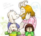 Gerson, when asked about Asgore and Toriel ...