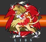 マウスとペイントでライオン