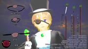 【MMDアクセサリ配布】眼帯と仕込み杖