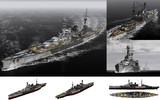 MMD用モブ巡洋戦艦1941(モブルス)セット