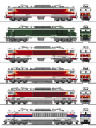 フランス国鉄CC6500/21000形電気機関車