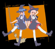 コトノハロウィン!①【魔女っ娘姉妹】