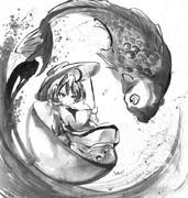 鯉と針妙丸