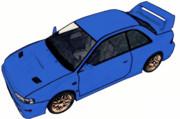 スバル・インプレッサ 22B-STi Version(レガシーワゴンさんの動画より)
