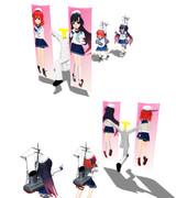 【MMD艦これ】択捉姉妹の抱き枕