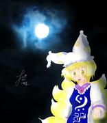 月光の藍様