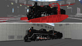 【モデル配布】C57型蒸気機関車135号機【MMD鉄道】