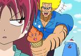 ボーボボが杏子ちゃんにアイスクリームをふるまう所