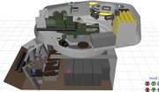 【MMD】T-34/85内装モデル