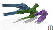 ダーウィン級宇宙戦艦系列完了