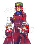 紅魔館門番隊冬季外套