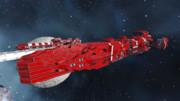 【Space Engineers】アマテラス級戦闘戦艦