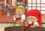 素麺の姉妹