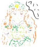美鈴描いたのだ。