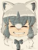 涙と笑顔のアライさん