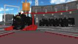 【モデル配布】D51型蒸気機関車・北海道セット2【MMD鉄道】
