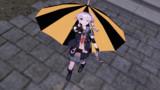 【MMD】(痛)傘のある風景:由良改二