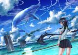 水晶クジラの棲む海