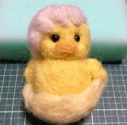 【羊毛フェルト】ヒヨコ