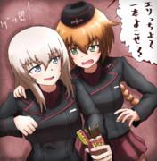 【ガルパン】エリカも先輩には逆らえない!