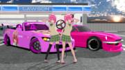 【MMD自動車】小悪魔のZとS2000【To LOVEる】