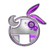 VOCALOID 結月ゆかりロゴ - chrome Grape -