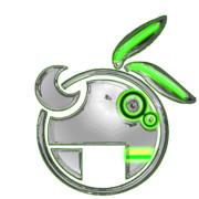 VOCALOID 結月ゆかりロゴ - Chrome Lime Green -