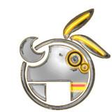 VOCALOID 結月ゆかりロゴ - Chrome Banana -