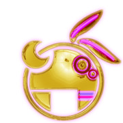 VOCALOID 結月ゆかりロゴ - Golden Grape -