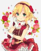 薔薇が似合う女の子