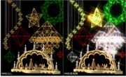 【MMDアクセサリ配布あり】クリスマス小物セット2