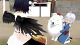 小霖と犬のフレンズ