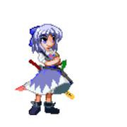 アドベントチルノ (GIFアニメ)