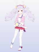 【MMDモデル配布】ラフィー