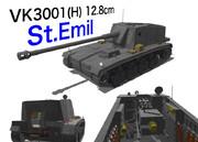 VK3001(H) 12.8cm St.Emil 配布