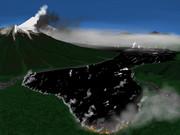 富士山 三島溶岩流