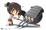 お題箱「46cm砲を格好良くぶっ放す大和さんをお願いします。」