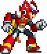 ロックマンXシリーズ風ロックマンゼロ