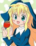 天使とトマト