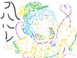こいしちゃんを描いたのだ。