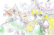千狐と魔理沙