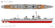 陽炎型駆逐艦 雪風(1939年12月)