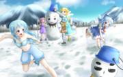 【ざくアク×東方】妖精たちの雪遊び