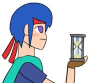 少年戦士と砂時計