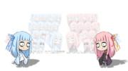 【キャラ素材】ティムバートンっぽい琴葉姉妹ver.2.0