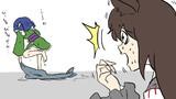 【1-1コマ】影狼は見た!【第9回東方ニコ童祭Exリレー漫画】
